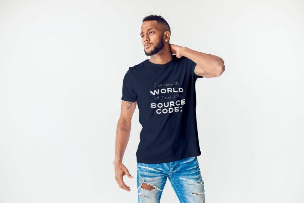 I can change the world tshirt